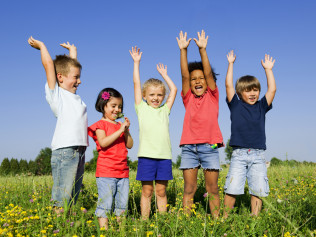 children are happier with child support